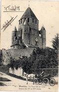 PROVINS - La Tour Dite De César - Attelage (Calèche)    (95620) - Provins