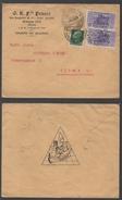 MARIONNETTES - POUPEES - PUPPET - DOLL / 1922 ITALIE ENVELOPPE COMMERCIALE ILLUSTREE (ref LE1052)