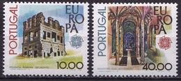 Portugal 1978 Europe CEPT Complete Set Michel 1403 / 1404 MNH