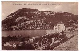 PORT (Ain): Le Châlet, Le Lac De Nantua Et Le Mont - France