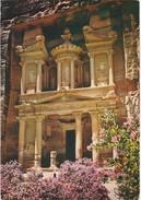 Cartolina - El Khazneh -treasury Petra - Jordan. - Giordania