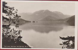 The Lake Harrison Hot Springs British Columbia Canada 1920-1940s Postcard CARTE PHOTO Photocard Real Photo - British Columbia