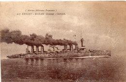 Marine Militaire Française - ERNEST-RENAN Croiseur - Cuirassé    (95629) - Oorlog