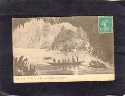 """68638   Belgio,   Grotte De Han,  Le  Lac  D""""Embarquement,  VG  1910 - Rochefort"""