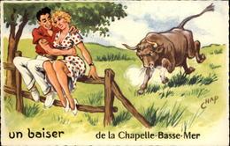 44 - LA CHAPELLE-BASSE-MER - Un Baiser De - Taureau - La Chapelle Basse-Mer