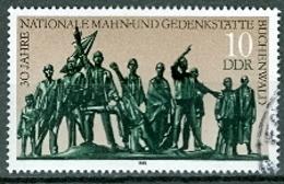 DDR Mi. 3197 Gest. Mahn- Und Gedenkstätte Weimar - Buchenwald Denkmal