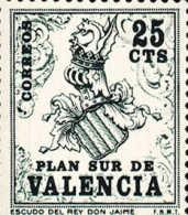 Plan Sur De Valencia 01 ** Escudo. 1963 - 1931-Hoy: 2ª República - ... Juan Carlos I