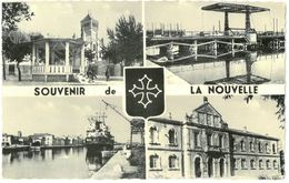 CPSM PORT LA NOUVELLE - Souvenir - Multi-Vues - Port La Nouvelle
