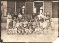 Bachant, Photo Originale De Classe En 1936 - Fotos