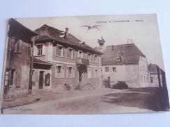 HABSHEIM MAIRIE CPA  TON SIPIA - Habsheim