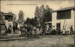 44 - LA CHAPELLE-BASSE-MER - St Simon - Travail De L'osier - La Chapelle Basse-Mer