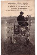 """BORDEAUX: Pulvérisateur à Traction """"Castaing"""", Fonderies Du Sud-Ouest (traction Par Un Cheval) - Vignes"""