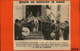 44 - LA CHAPELLE-BASSE-MER - Article De Journal Issu D'un Journal De 1959 - Journaux - Quotidiens
