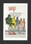 AFFICHES - POSTERS - CINÉMA - JAMES BOND AGENT 007 - THE FIRST JAMES BOND FILM IAN FLEMING'S DR.NO (1962) - Affiches Sur Carte