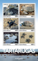 GUINEA BISSAU 2016 ** Turtles Schildkröten Tortues M/S - OFFICIAL ISSUE - A1708