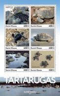 GUINEA BISSAU 2016 ** Turtles Schildkröten Tortues M/S - IMPERFORATED - A1708