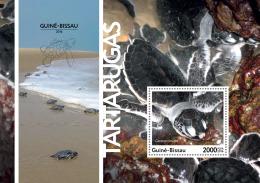 GUINEA BISSAU 2016 ** Turtles Schildkröten Tortues S/S - IMPERFORATED - A1708