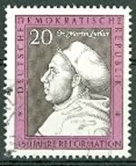 DDR 1967 Mi. 1317 Gest. Martin Luther 450 Jahre Reformation