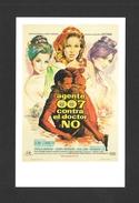 AFFICHES - POSTERS - CINÉMA - JAMES BOND AGENT 007 - SEAN CONNERY URSULA ANDRESS JOSEPH WISEMAN JACK LORD DR.NO (1962) - Affiches Sur Carte