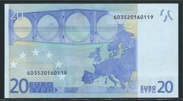 RR G CIPRO 20 EURO R031 A1 FIRST POSITION DRAGHI  AUNC - EURO