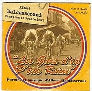 CYCLISME - BALDASSERONI - 1962 - CD  - SIMPLE SINGLE - CHAMPION DE FRANCE - - Limited Editions