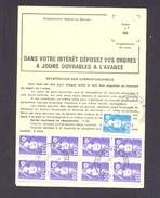 FINISTERE 29  BOHARS ORDRE DE REEXPEDITION - Marcofilie (Brieven)
