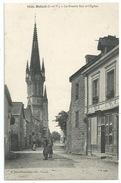 35 Balazé - La Grande Rue Et L'église - Other Municipalities