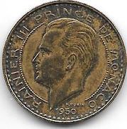 *monaco 10 Francs 1950  Vf+ - Monaco
