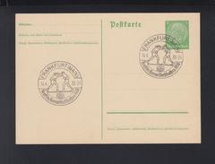 Dt. Reich GSK 1938 Sonderstempel Box Meisterschaften Frankfurt Am Main - Deutschland