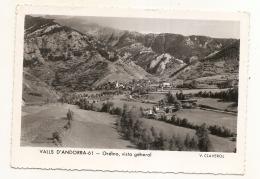 Valls ANDORRA -  ANDORRE - ORDINO  Vista General  - Timbre Arraché - Clair - Andorra