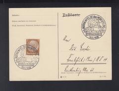 Dt. Reich GSK 1938 Sonderstempel Rothenfelde Grundsteinlegung Des Volkswagenwekes - Deutschland