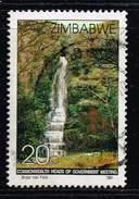 Zimbabwe 1991, Michel# 466 O Bridal Veil Falls - Zimbabwe (1980-...)