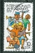 DDR 1979 Mi. 2422 Gest. Jahr Des Kindes Spielende Kinder