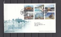 Great Britain 2014 - Seaside Architecture FDC, Michelnr. 3637-42, Cat.val. € 17,00 - FDC