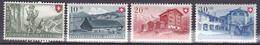 N° 457 à  460   Fête Nationale De 1948:  :Timbres Neuf Très Légère Trace De Charnière - Suiza