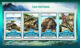 TOGO 2016 ** Turtles Schildkröten Tortues M/S - OFFICIAL ISSUE - A1708