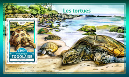 TOGO 2016 ** Turtles Schildkröten Tortues S/S - IMPERFORATED - A1708