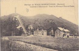 Barrage De Walk-Roberville( Bevercé) Centrale D'Electricité- Tour Du Niveau D' Eau Et Chute