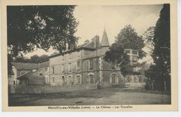 MARCILLY EN VILLETTE - Le Château - Les Tourelles - France