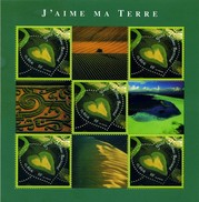"France BF N°  43 ** Saint Valentin - Le Cœur (3459) Par Yann-Arthus Bertrand ""J'aime Ma Terre"" - Mint/Hinged"