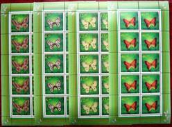 Kazakhstan  1996  Butterflies  4M/S   MNH - Kazakhstan