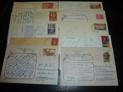 LOT DE 133 LETTRES ET CARTES POSTALES - ANDORRE FRANCAIS - TRES BEL ENSEMBLE - Machine Stamps (ATM)