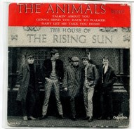 D1  THE ANIMALS THE HOUSE OF THE RISING SUN 1964 - Rock