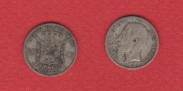 Belgique  --  50 Centimes 1898  --  Km # 26  --  état  TB - 06. 50 Centimes