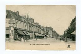 C18 62 PAS DE CALAIS CALAIS  BOULEVARD LAFAYETTE CARTE PIONNIERE 1902 - Calais