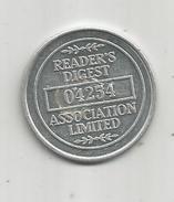 G-I-E , Jeton READER'S DIGEST ASSOCIATION LIMITED , N° 04254  , 2 Scans - Professionals / Firms