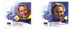 Ref. 88511 * MNH * - AUSTRALIA. 2002. MEDALLERS OF THE 19th WINTER OLYMPIC GAMES. SALT LAKE CITY 2002 . MEDALLAS DE LOS