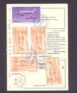 FINISTERE 29 BREST QUATRE MOULINS  AP ORDRE DE REEXPEDITION - Marcophilie (Lettres)