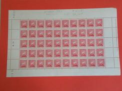 Monaco > 1940-1949 > Neufs > Monaco N° 231 Y&T - Feuille 50 Timbres Daté 19.9.1942 - Coté 37,50€ - 1941-42 Neuf - Monaco