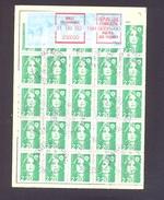 FINISTERE 29 BREST RECOUVRANCE ORDRE DE REEXPEDITION - 1961-....